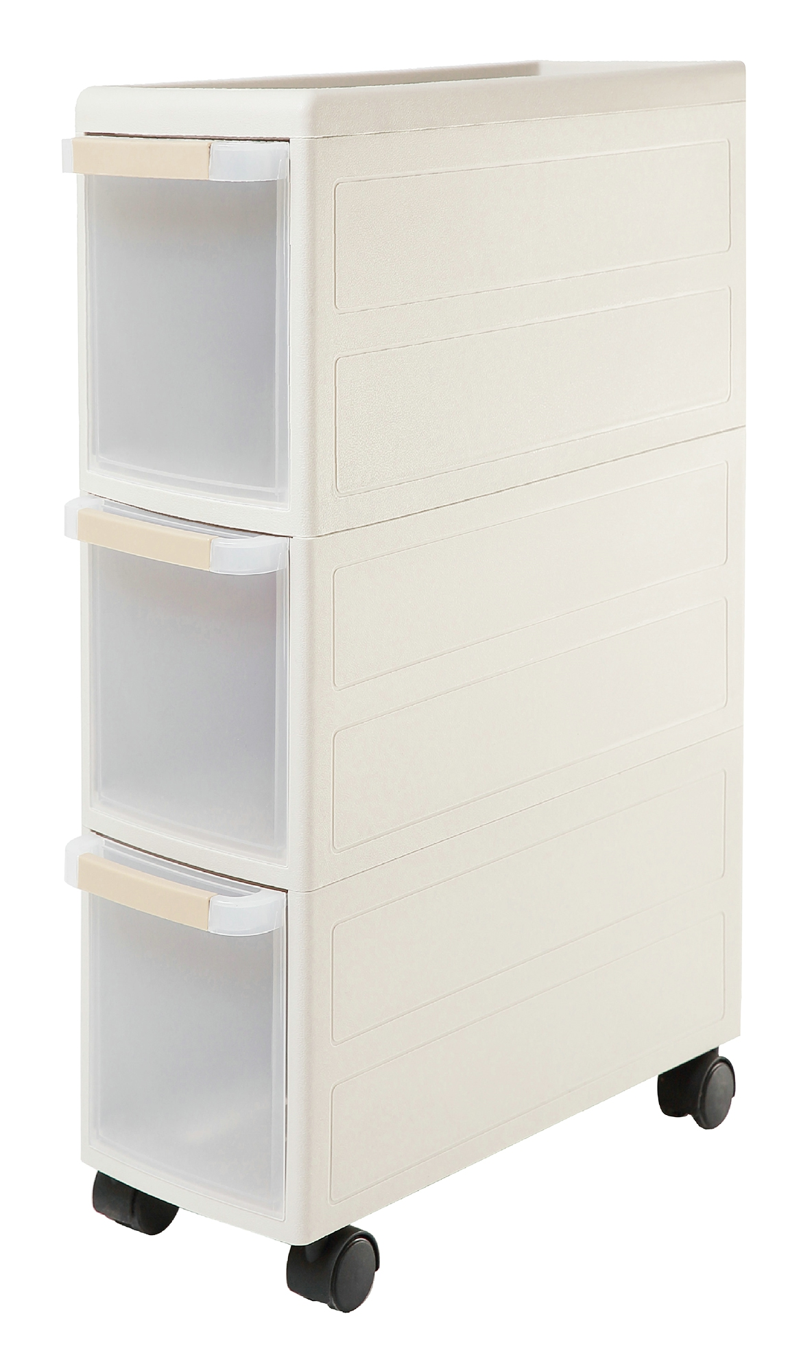 Orolay Plastic Storage Trolley Drawers On Wheels Cabinet